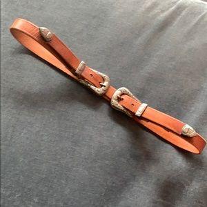Brave - Modern Western Double Belt